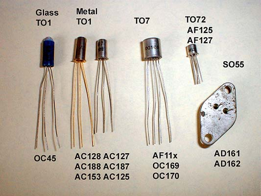 Vintage Radio And Electronics Transistor Codes And