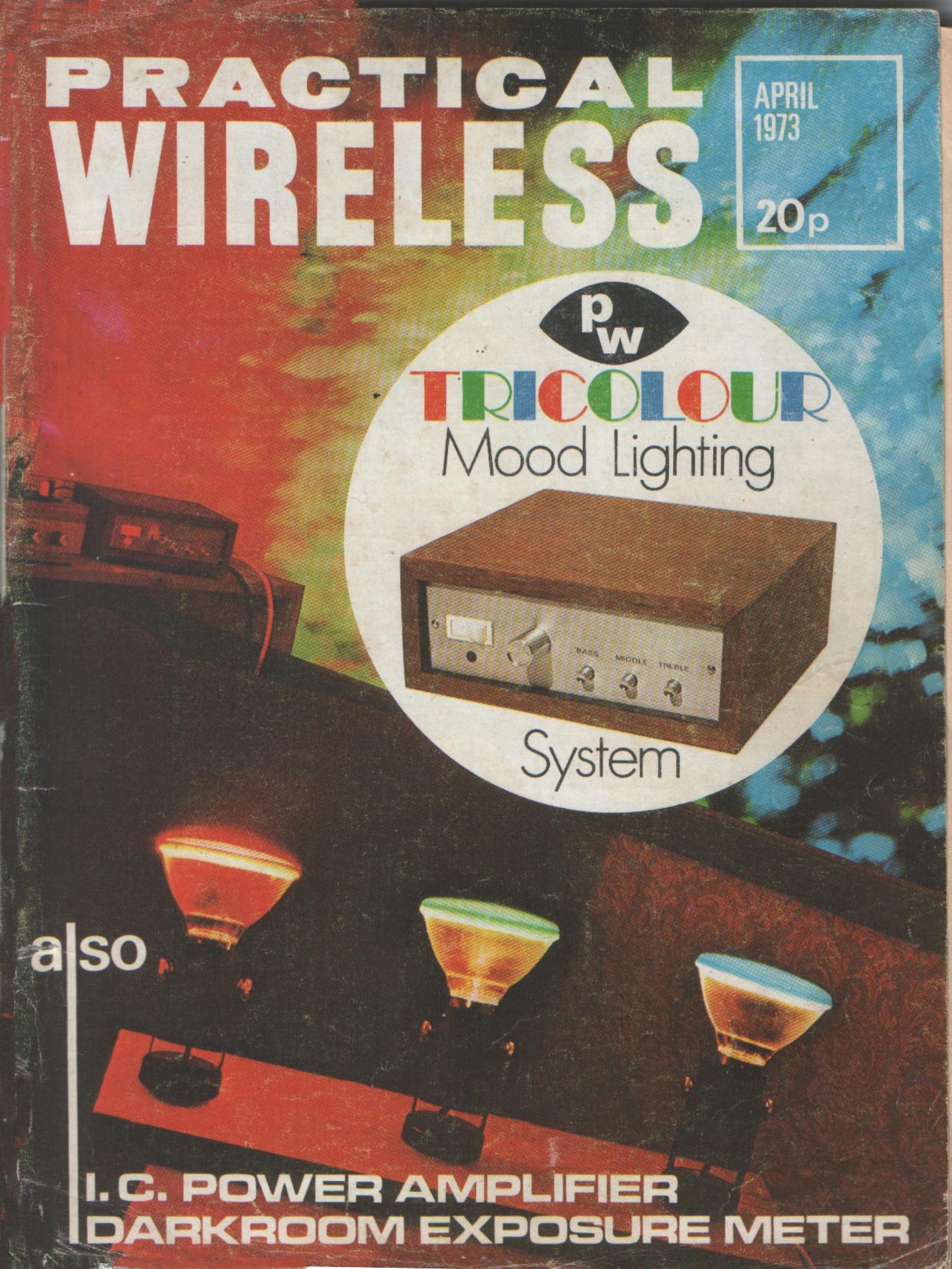 Vintage Radio and Electronics  Magazine Covers 1973