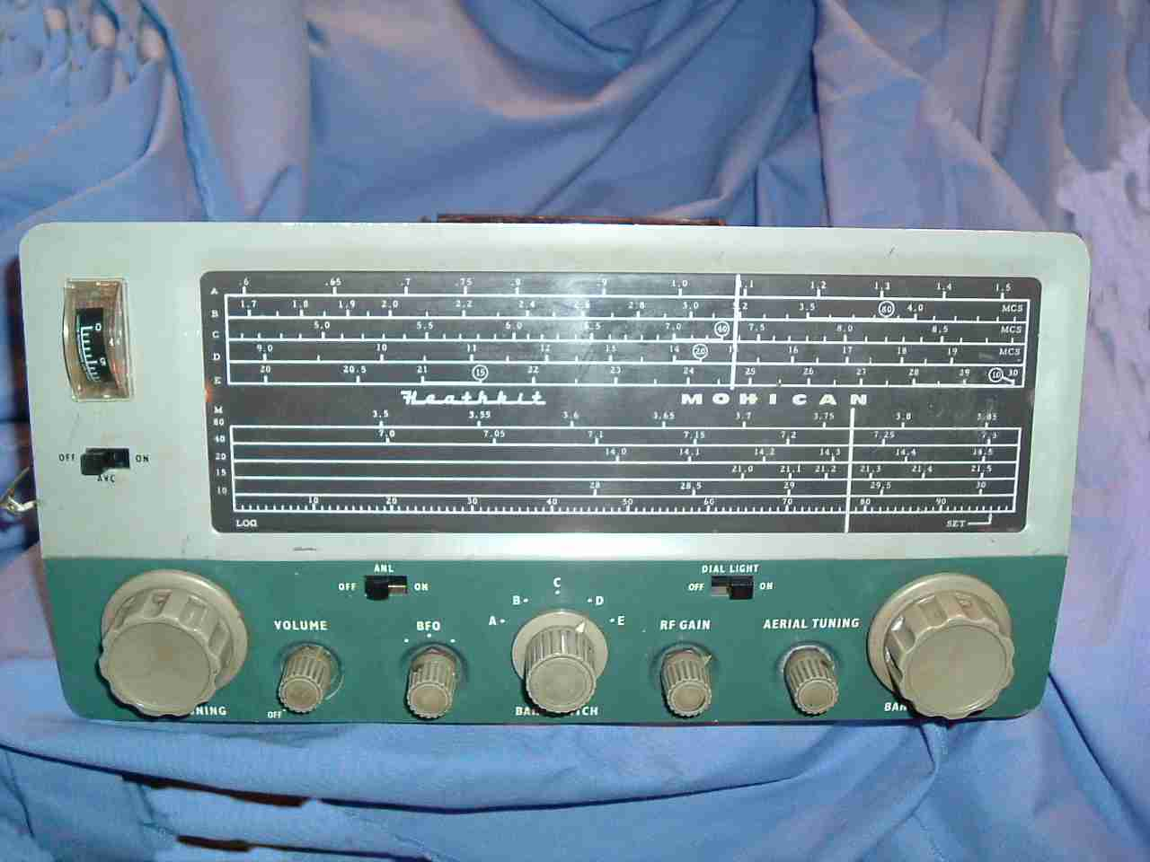Vintage Radio and Electronics  Heathkit Mohican GC1A