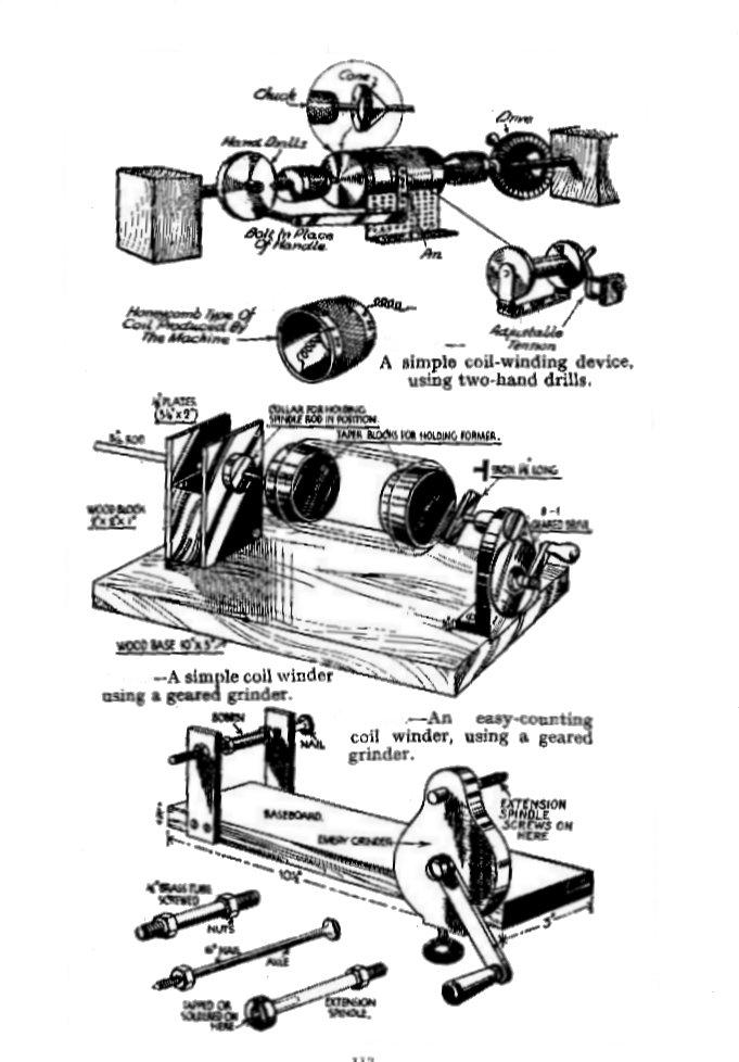 vintage radio and electronics  radio constructor components