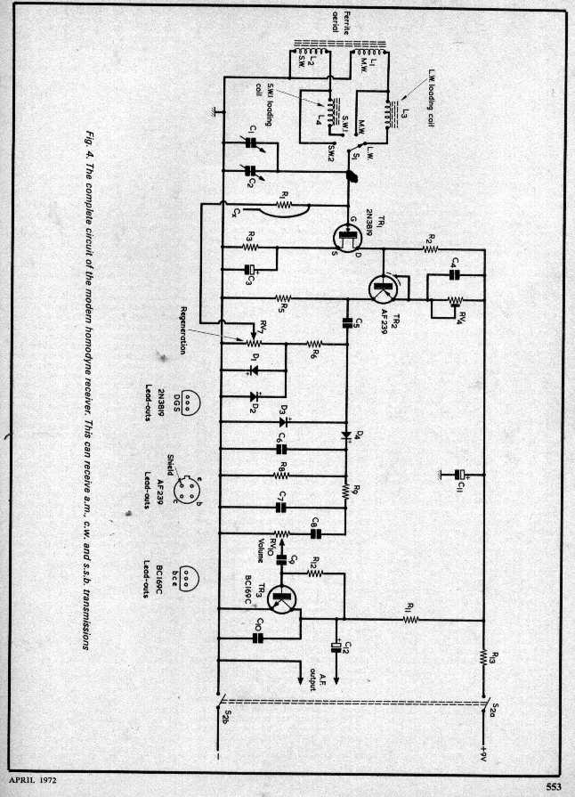 Do you have a good two transistor AM radio schematic? - The