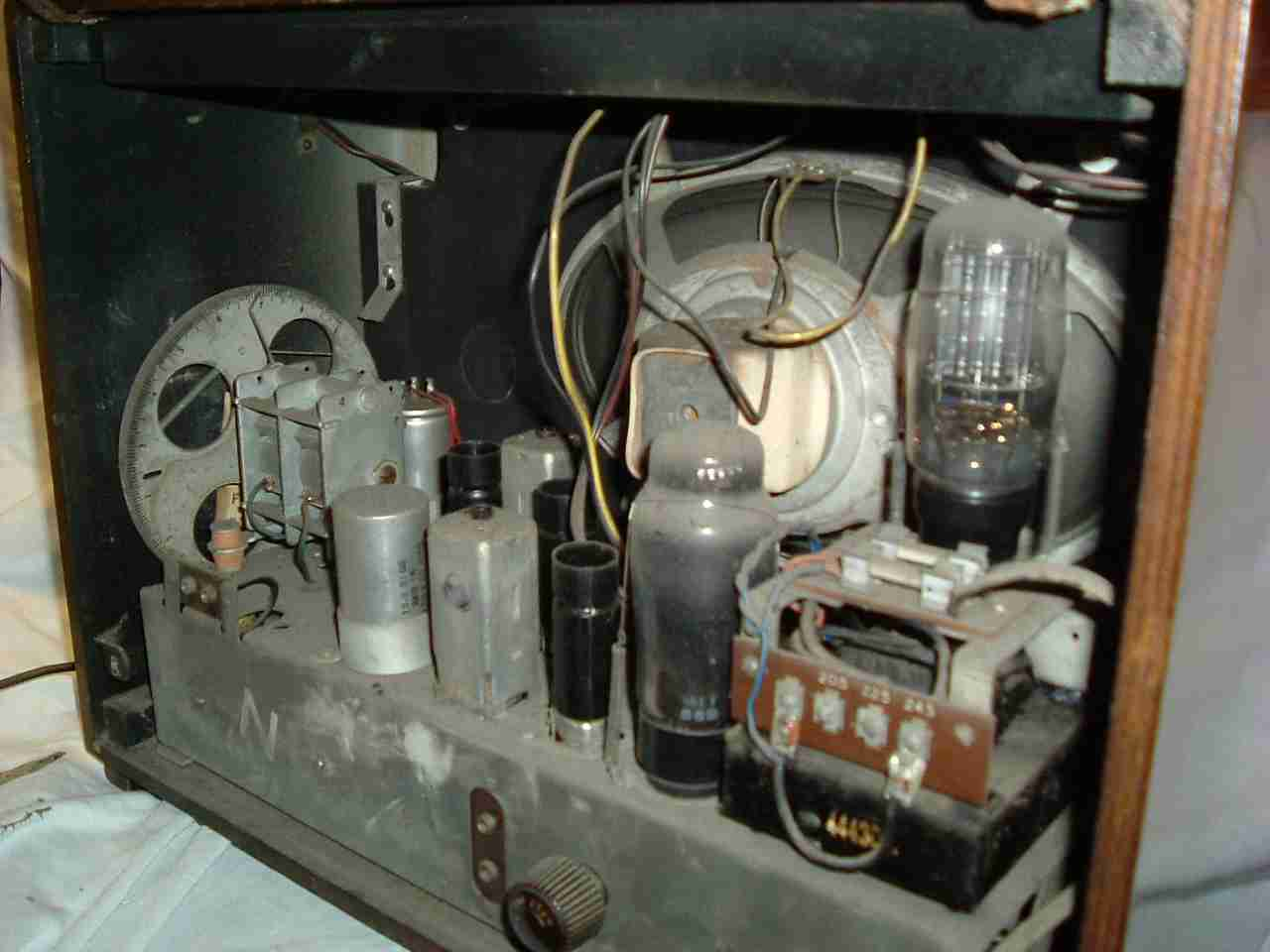 antiquated equipment